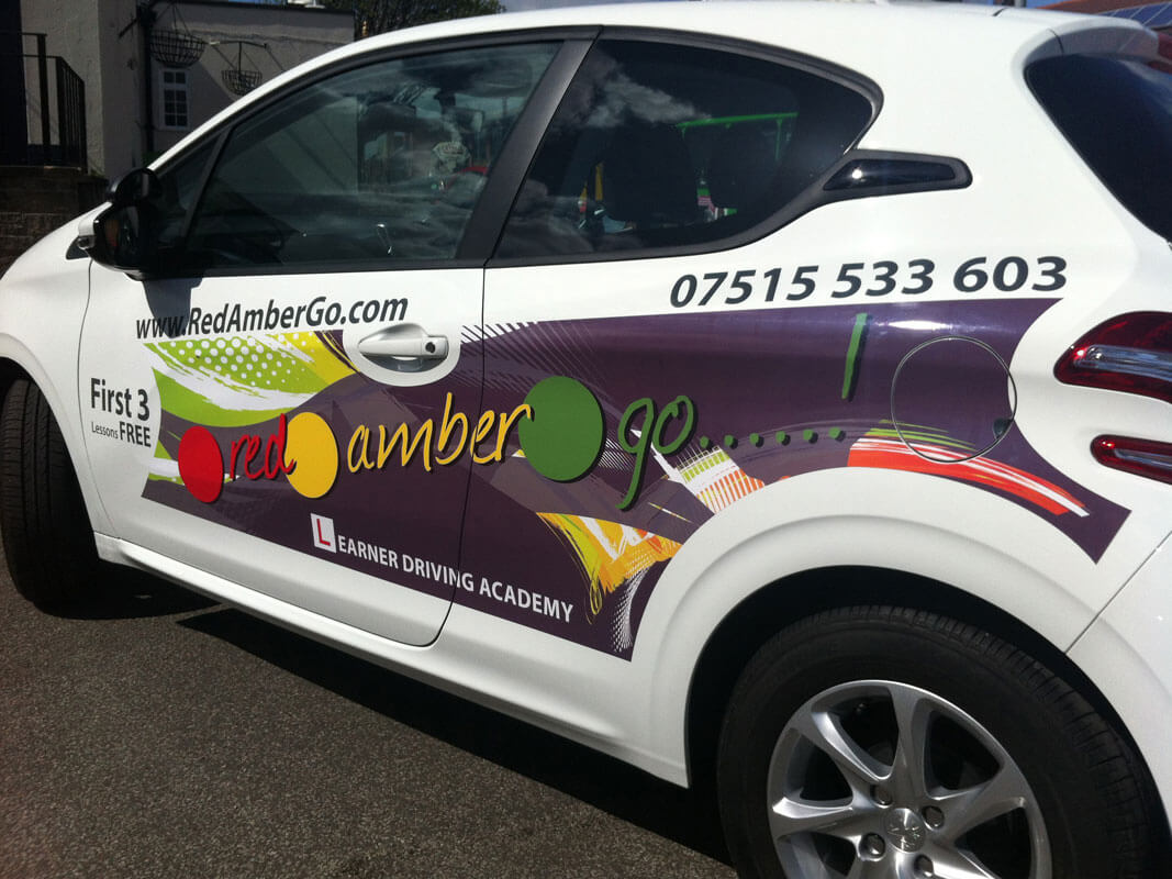 Vinyl graphics for vehicles