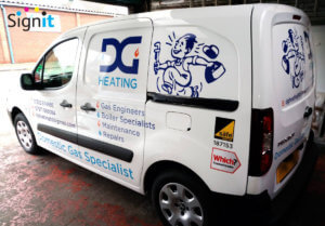 nottingham van graphics