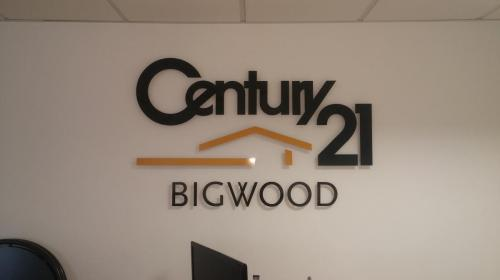 Century 21 - Stand Off Lettering