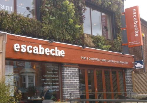 Escabeche sign