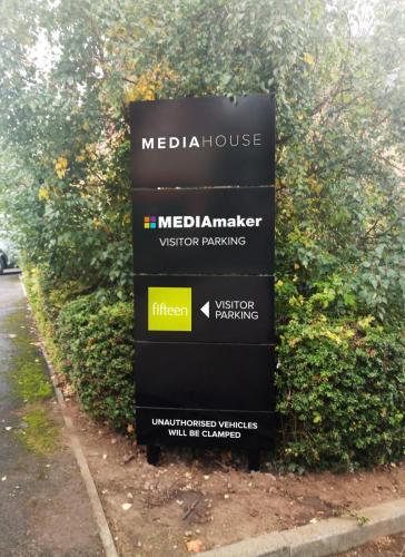 Media Maker Panel Sign