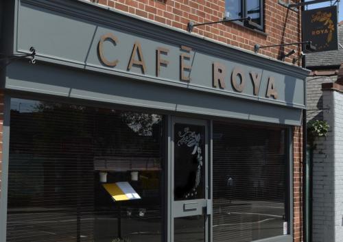 Cafe Roya Shop Front