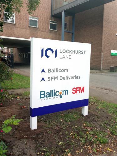 Lockhurst Balicom & SFM Sign