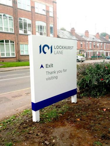 Lockhurst Exit Sign